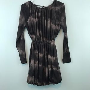 Converse Black/Gray Tie Dye Print Dress or Tunic